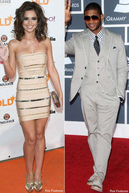 Cheryl Cole & Usher - Will I.Am smitten with Cheryl - Celebrity News - Marie Claire