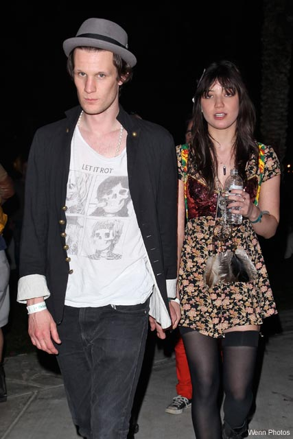 Daisy-Lowe-and-Matt-Smith, Coachella Festival 2010, Celebrity Photos, April 19 2010