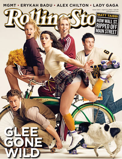 SEE the Glee cast Rolling Stone cover - Glee Gone Wild - News - Marie Claire