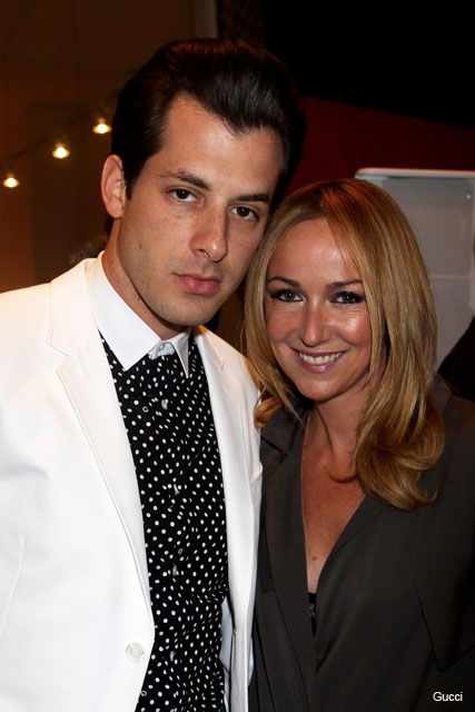Mark Ronson and Frida Giannini  - Gucci Icon Temporary Pop-up store, London - Marie Claire