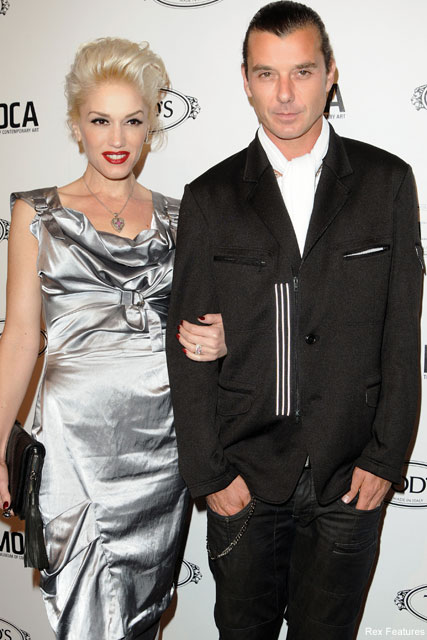 Gwen Stefani and Gavin Rossdale  - Courtney Love confesses affair with Gavin Rossdale - Celebrity News - Marie Claire