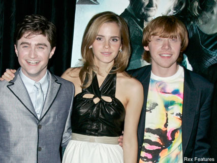 Daniel Radcliffe, Emma Watson and Rupert Grint - Celebrity News - Marie Claire