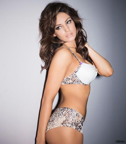 Kelly Brook in the new ad campaign for Ultimo Lingerie