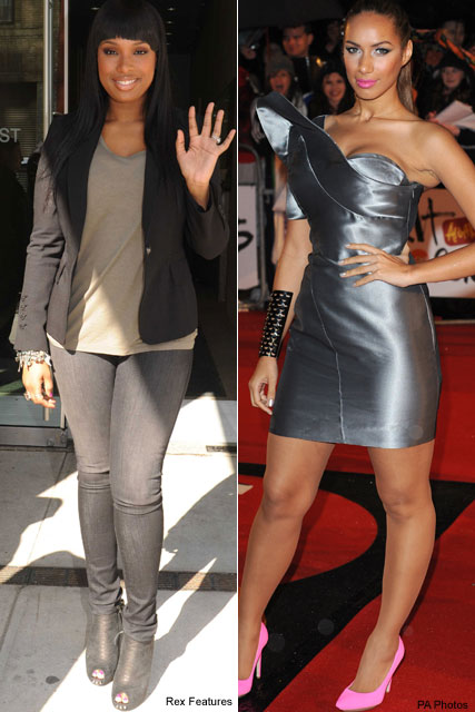 Leona Lewis & Jennifer Hudson - Sex and the City - Celebrity News - Marie Claire
