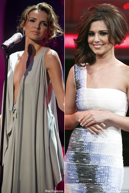 Nadine Coyle & Cheryl Cole - Girls Aloud - Celebrity News - Marie Claire