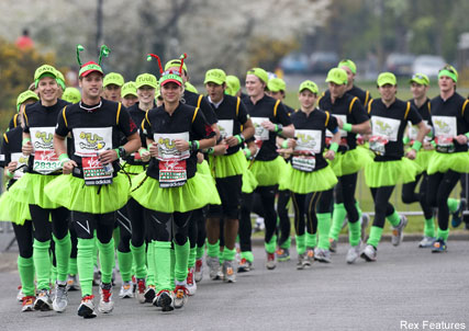 Princess Beatrice - London Marathon - Celebrity News - Marie Claire