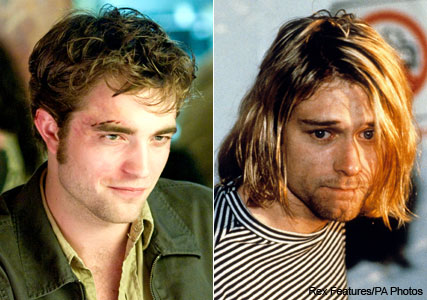 Robert Pattinson to play Kurt Cobain in Hollywood biopic - Nirvana, Scarlett Johansson, Courtney Love, Twilight - Marie Claire