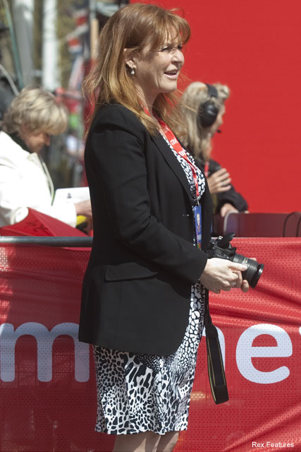 Sarah Ferguson - London Marathon - Celebrity News - Marie Claire
