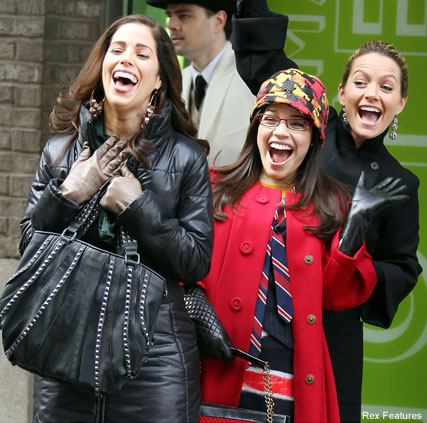 Ana Ortiz, America Ferrera and Becki Newton - Ugly Betty - Celebrity News - Marie Claire