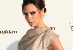 Victoria Beckham at the Elton John annual Oscars after-party