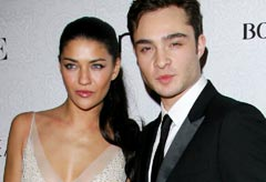 Ed Westwick and Jessica Szohr split, amidst allegations she flirted with his friend