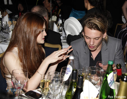 Jamie Campbell Bower & Bonnie Wright - Celebrity News - Marie Claire