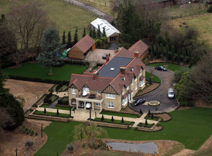 Hurtmore House - Cheryl Cole launches divorce proceedings - Cheryl Cole divorce - Celebrity News - Marie Claire