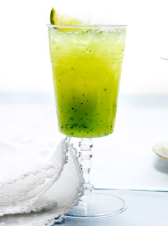 Cucumber,-Lychee-and-mint-vodka-shots, Marie Claire Recipes
