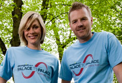 Jenni Falconer and James Midgley - The Prince's Trust - Marie Claire