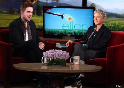 Robert Pattinson - PICS: Robert Pattinson reveals new 'do on Ellen - Celebrity News - Marie Claire