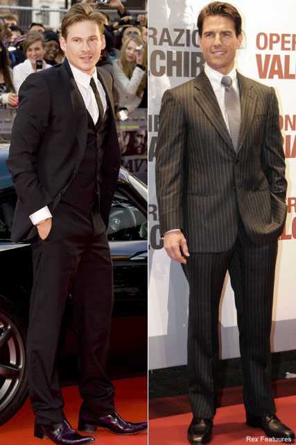 Tom Cruise & Lee Ryan - Lee Ryan and Tom Cruise hatch movie plans over Twitter - Celebrity News - Marie Claire