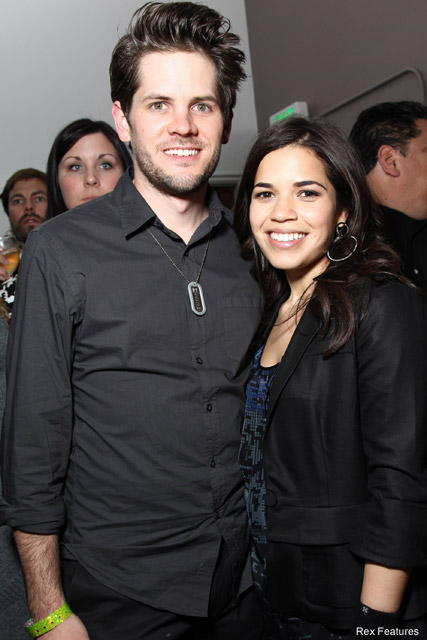 America Ferrera and Ryan Piers Williams America Ferrera engaged! - Ryan Piers Williams - Celebrity News - Marie Claire