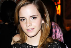 Emma Watson in Christopher Kane - Emma gets racy in lace dress - Harry Potter - Marie Claire