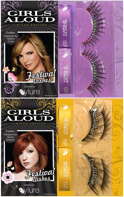 Girls Aloud eyelure false eyelashes