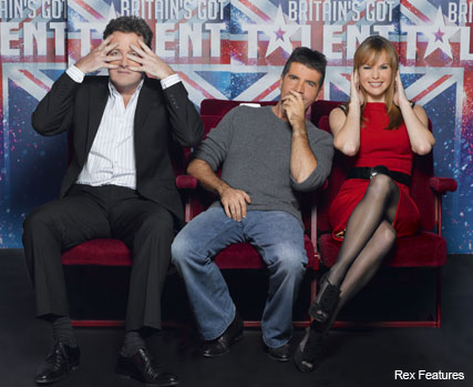Piers Morgan, Simon Cowell and Amanda Holden - Britain's Got Talent