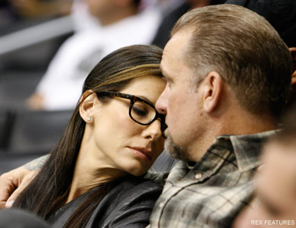 Sandra Bullock & Jesse James - Celebrity News - Marie Claire