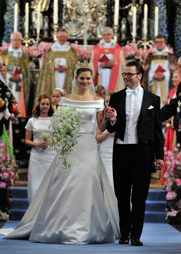 The Royal Wedding Of Crown Princess Victoria Sweden And Daniel Westling