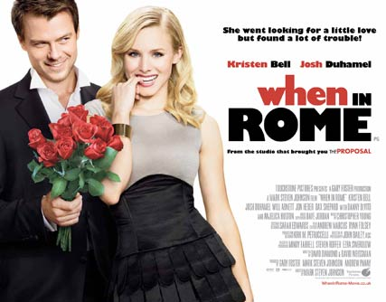 Kristen Bell and Josh Duhamel - When in Rome - Celebrity - Marie Claire