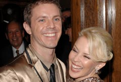 Kylie Minogue and Jake Shears - Kylie to join Scissor Sisters on stage at Glastonbury 2010