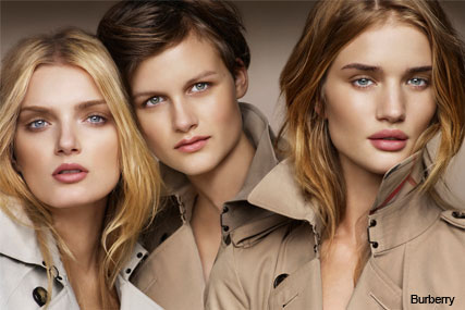 SEE the brand new Burberry Beauty campaign featuring Rosie Huntington-Whiteley - Beauty News, Marie Claire