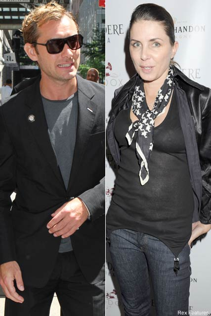 Jude Law and Sadie Frost - Jude Law issues writ to stop Sadie