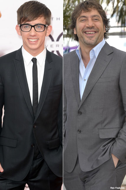 Kevin McHale and Javier Bardem - Javier Bardem's Glee's newst star - Celebrity News - Marie Claire