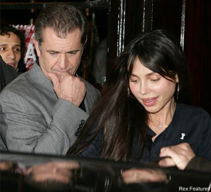 Mel Gibson and Oksana Grigorieva - Mel Gibson caught in