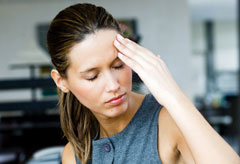 Woman with migraine headache, health news, Marie Claire