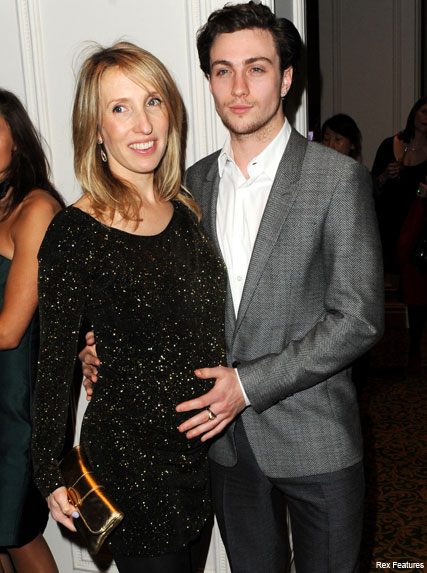 f233a1a1bf3c2 Sam Taylor-Wood and Aaron Johnson - Baby joy for Sam Taylor Wood - Celebrity