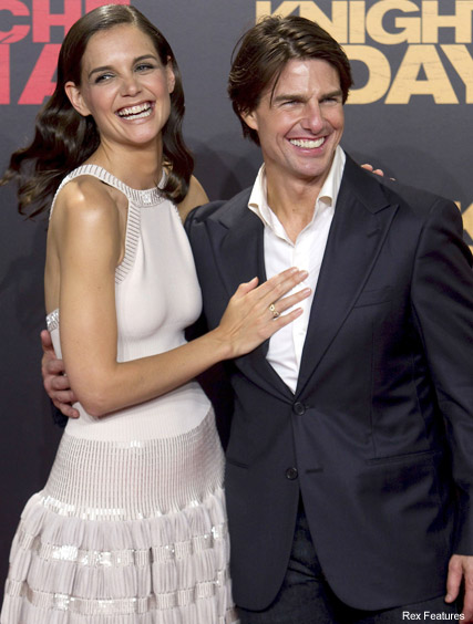 Tom Cruise and Katie Holmes -  Tom Cruise planning reality show? - Katie Holmes - Suri Cruise - Knight and Day - Celebrity News - Marie Claire