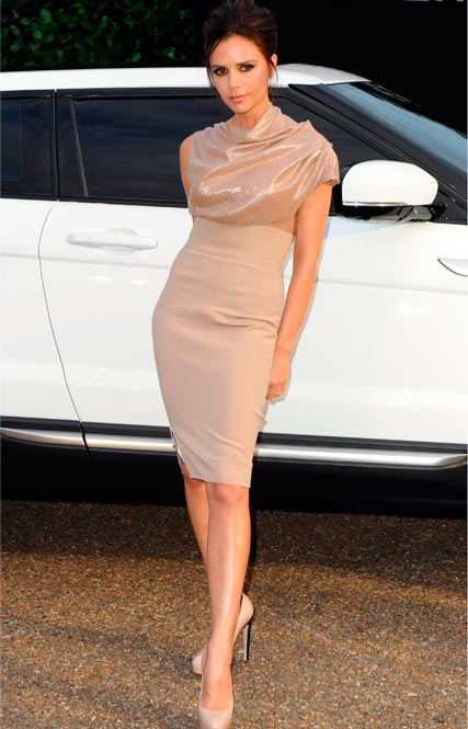 Victoria Beckham is appointed Creative Design Executive for Land Rover and Range Rover