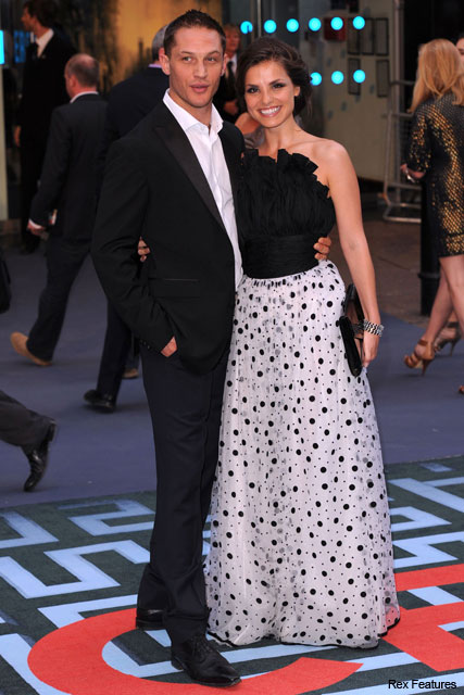 Tom Hardy and Charlotte Riley - Inception London premiere, Marie Claire
