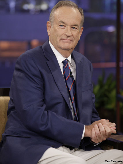 Bill O'Reilly - Jennifer Aniston involved in motherhood row - Bill O'Reilly - Fox News - Celebrity News - Marie Claire