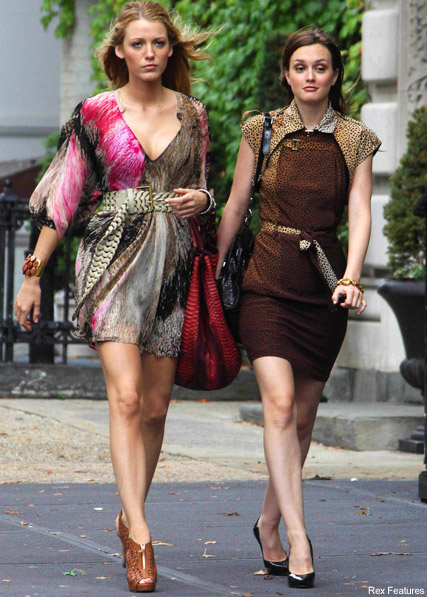 Blake Lively and Leighton Meester - Blake Lively to quit gossip girl? - Gossip Girl - Celebrity News - Marie Claire