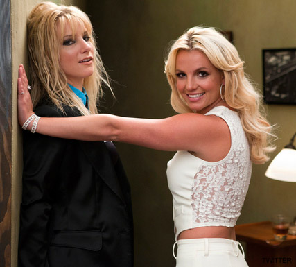 Britney Spears - Britney Spears hints to perform Me Against The Music on Glee? - Glee - Britney Spears Glee - Britney Glee Episode - Celebrity News - Marie Claire