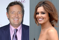 Cheryl Cole and Piers Morgan -'Sparkling' Cheryl Cole talks to Piers Morgan about Malaria - Cheryl Cole malaria - Celebrity News - Marie Claire