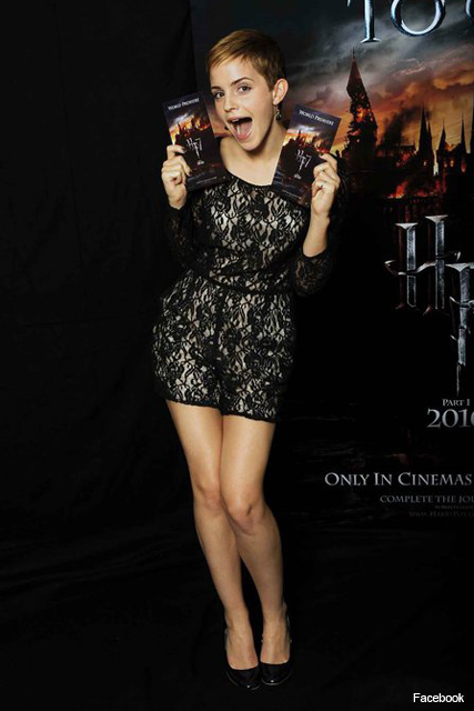 How to WIN Harry Potter premiere tickets! - Emma Watson, Deathly Hallows, Marie Claire