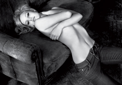 SEE Georgia May Jagger bare all for new Hudson Jeans campaign - advert, model, ad campaign, pics, pictures, fashion, news, Marie Claire