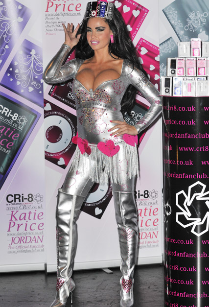 Katie Price - Love or hate? Katie Price?s iPod headpiece - iPod - Celebrity News - Marie Claire