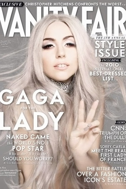 Lady Gaga for Vanity Fair - FIRST LOOK! Lady Gaga's sizzling Vanity Fair cover - Celebrity News - Marie Claire