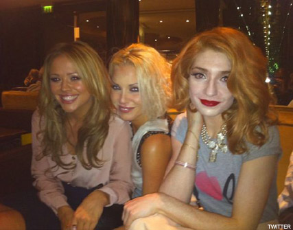 Nicola Roberts, Kimberley Walsh and Sarah Harding - Girls Aloud - Dainty Doll - Celebrity News - Marie Claire