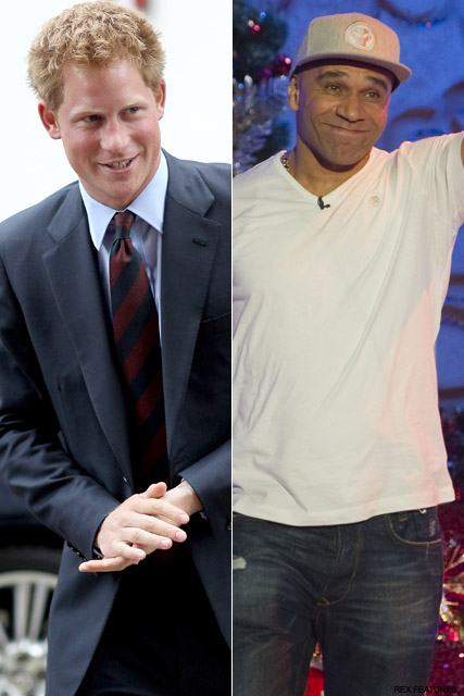 Prince Harry and Goldie - Prince Harry?s royal reality show - Celebrity News - Marie Claire