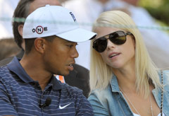 Elin Nordegren and Tiger Woods - World News - Marie Claire