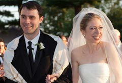 Chelsea Clinton wedding pics - Chelsea Clinton and Marc Mezvinsky marry